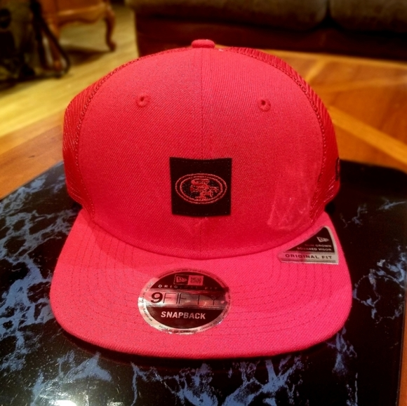 New Era Other - 🆕️ 2 LEFT!! Shanahan 49ers red trucker cap hat